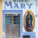 'Video Mary' Chicxulub, Yucatan Digital photo assemblage Sukanya Rahman ©2008
