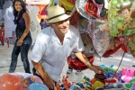 'Toy seller on the Zocalo, Merida'